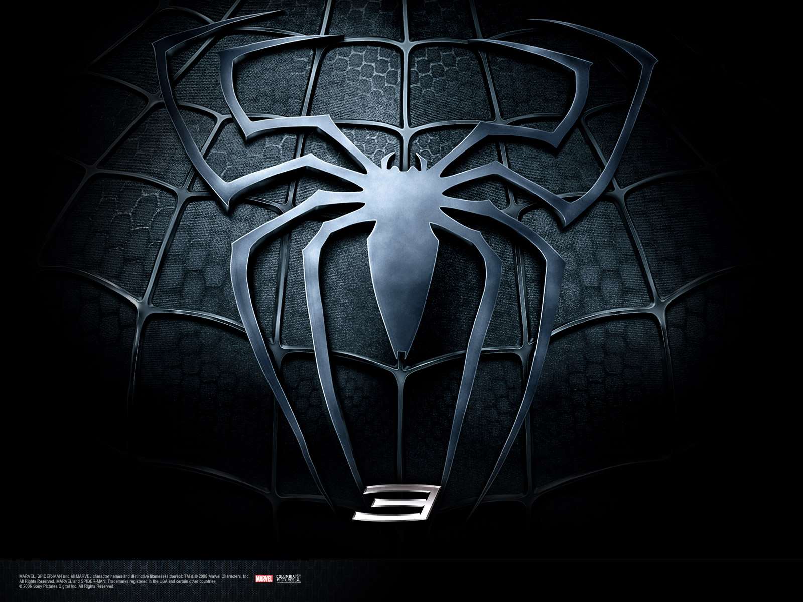 Wallpaper Spiderman costume noir spider