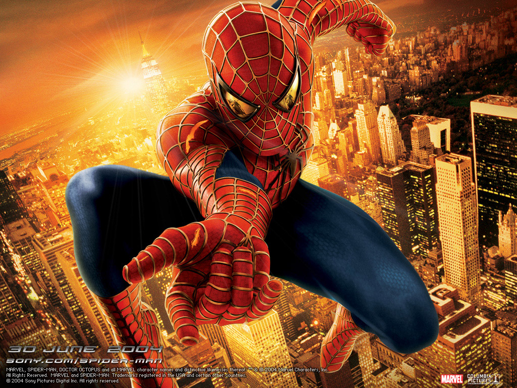 Wallpaper Spiderman l homme arraignee