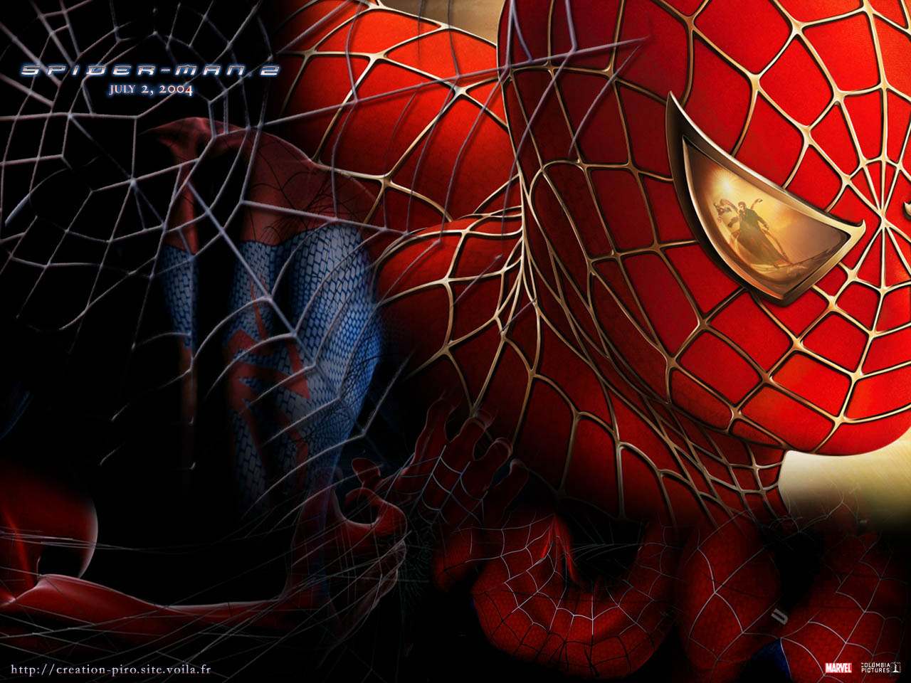 Wallpaper l homme arraignee contre octopus Spiderman