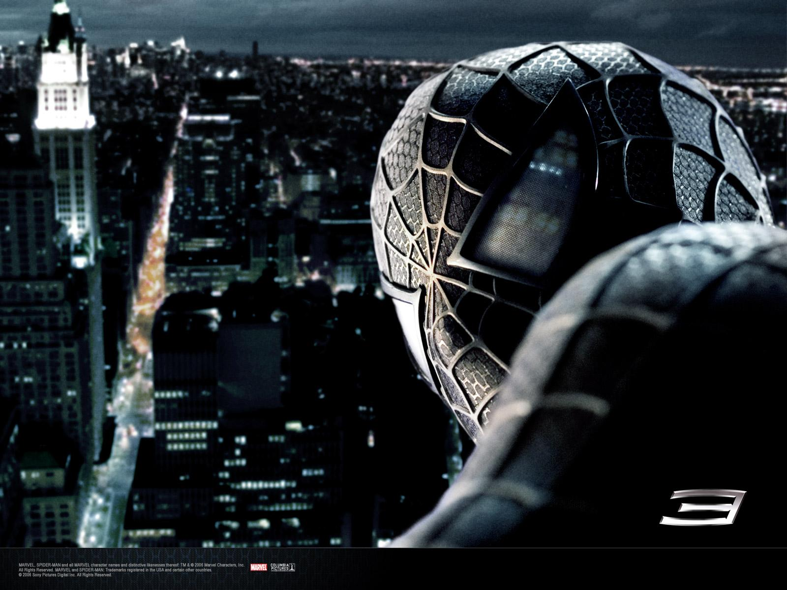 Wallpaper Peter sombre Spiderman