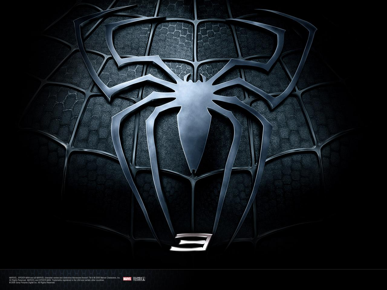 Wallpaper Spiderman costume noir spider