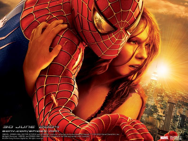 Wallpaper l homme arraignee avec marie jeanne Spiderman