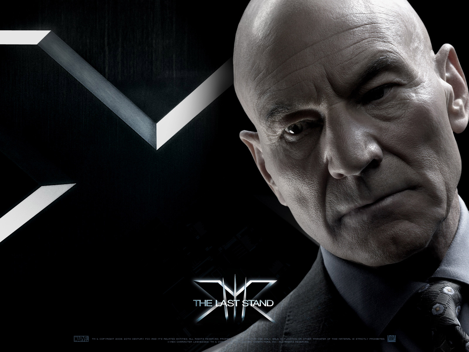 Wallpaper Charles Xavier Patrick Stewart X-men
