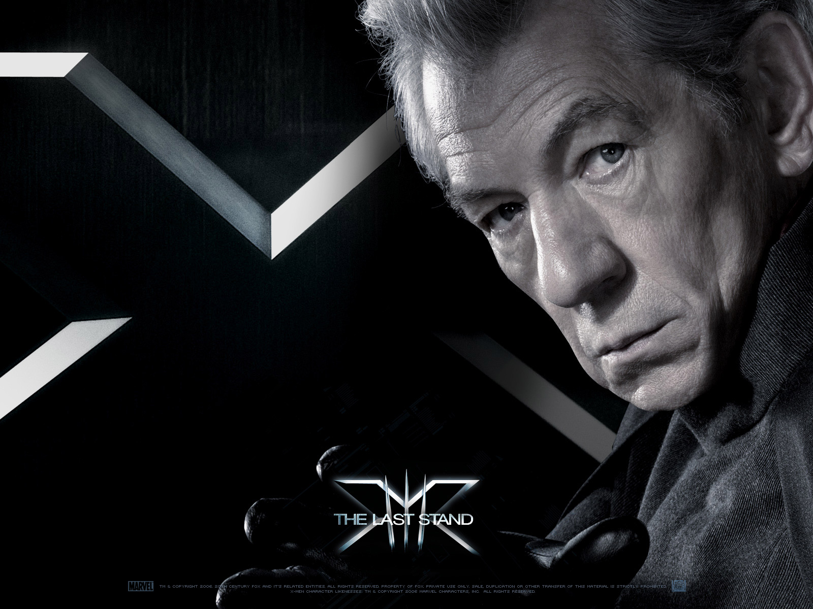 Wallpaper X-men Magneto Ian McKellen
