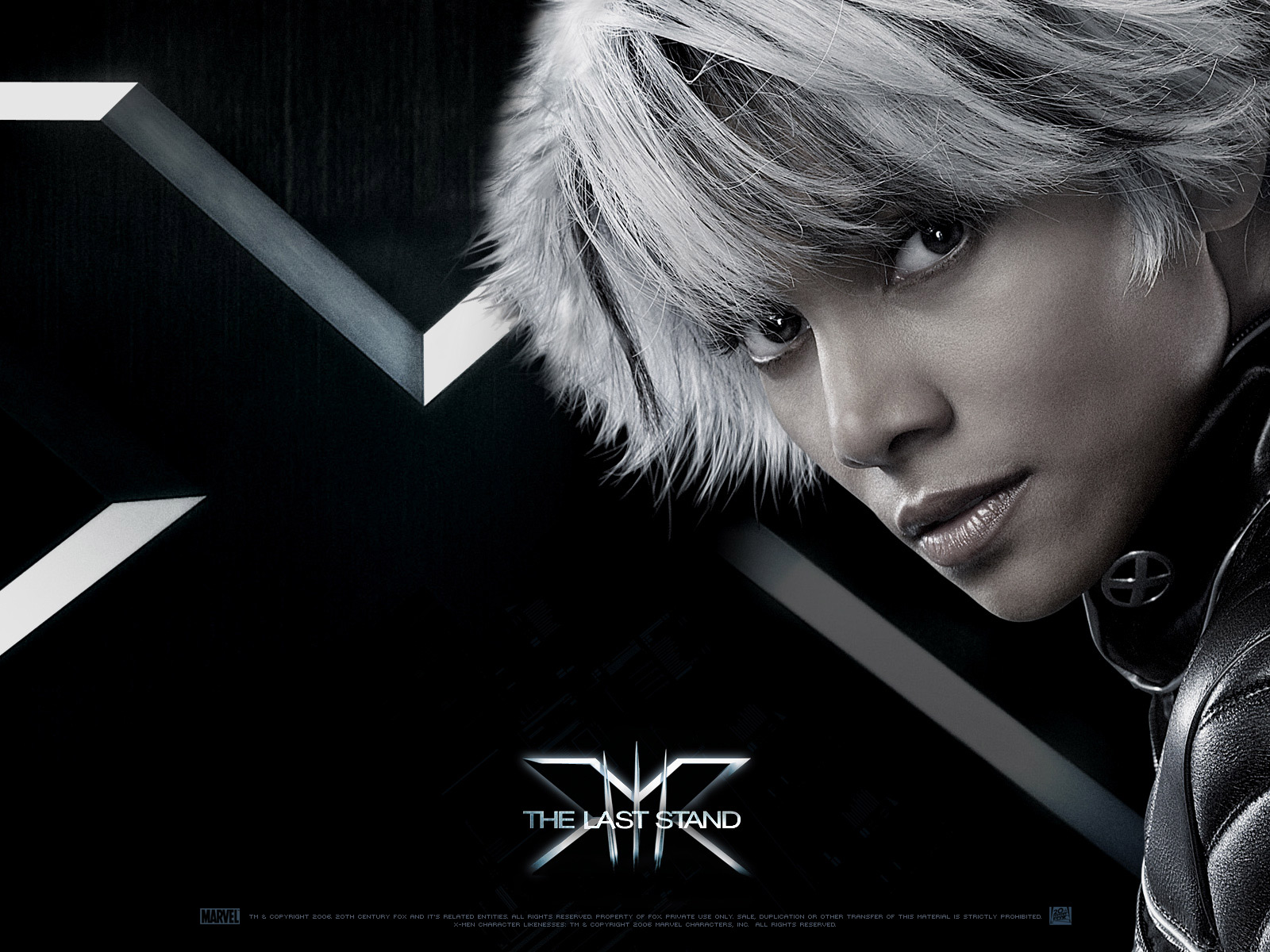 Wallpaper X-men Tornade Storm Halle Berry