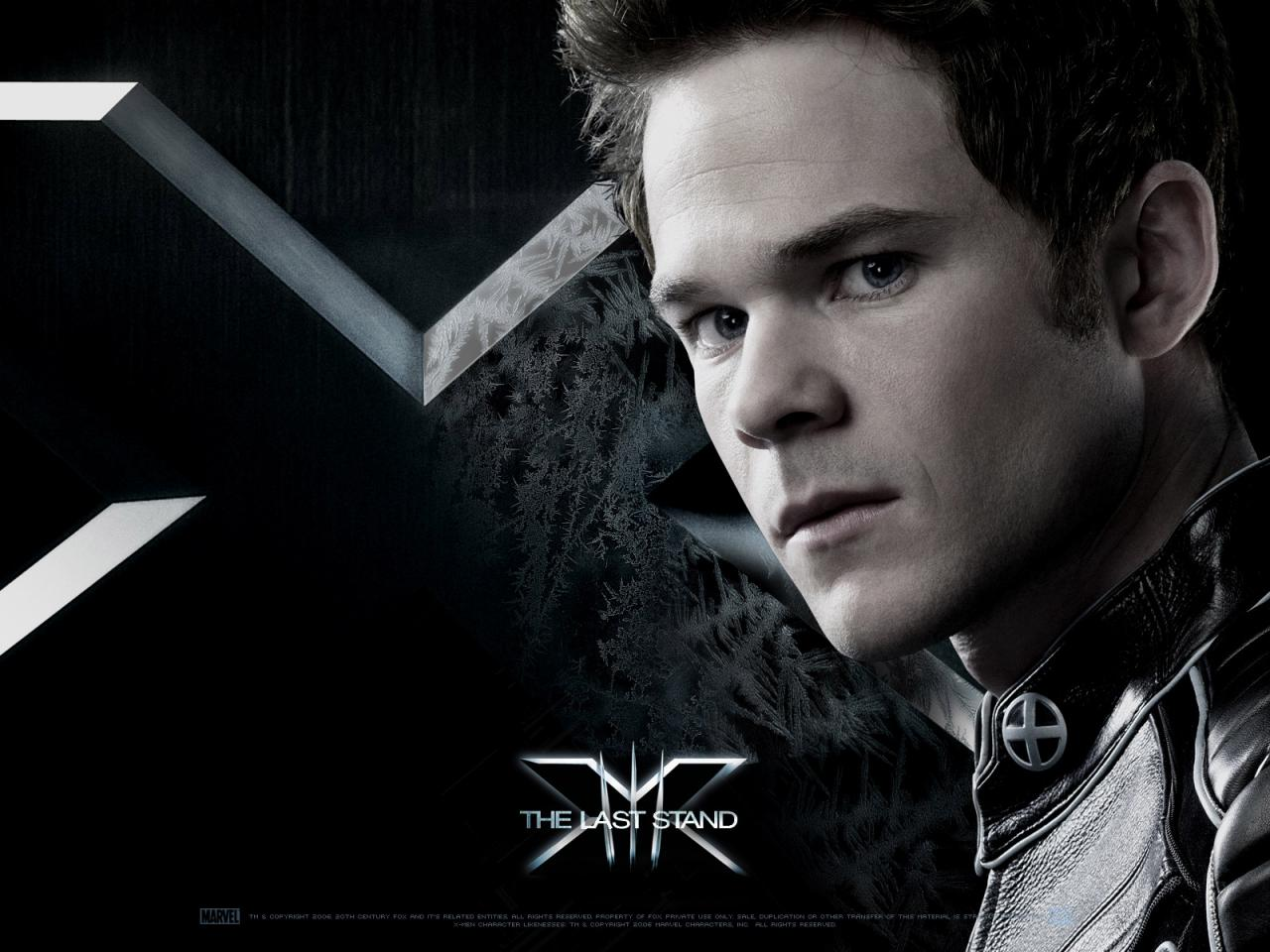 Wallpaper Iceman Shawn Ashmore X-men