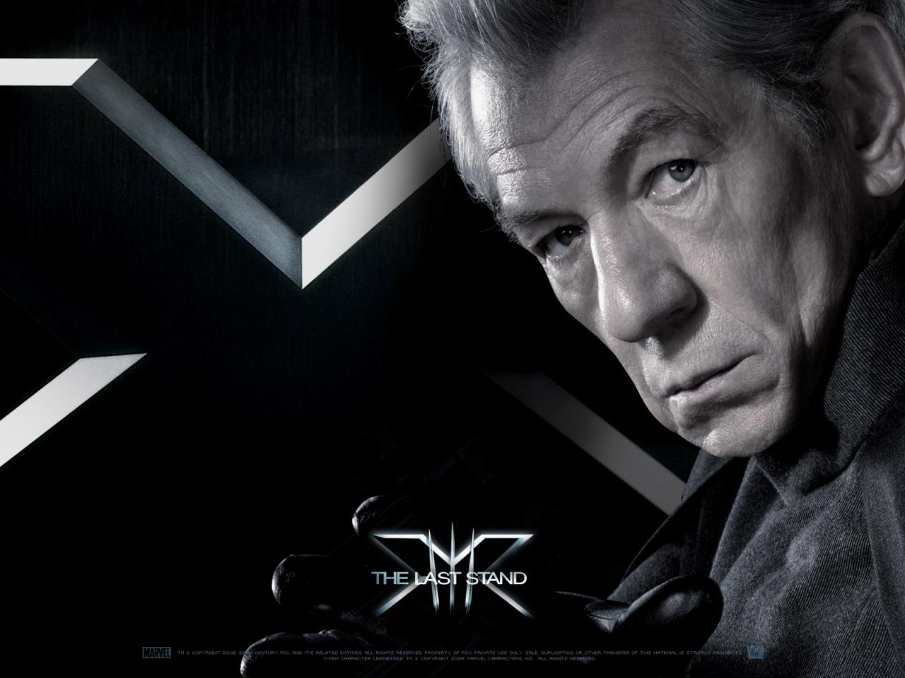 Wallpaper Magneto Ian McKellen X-men