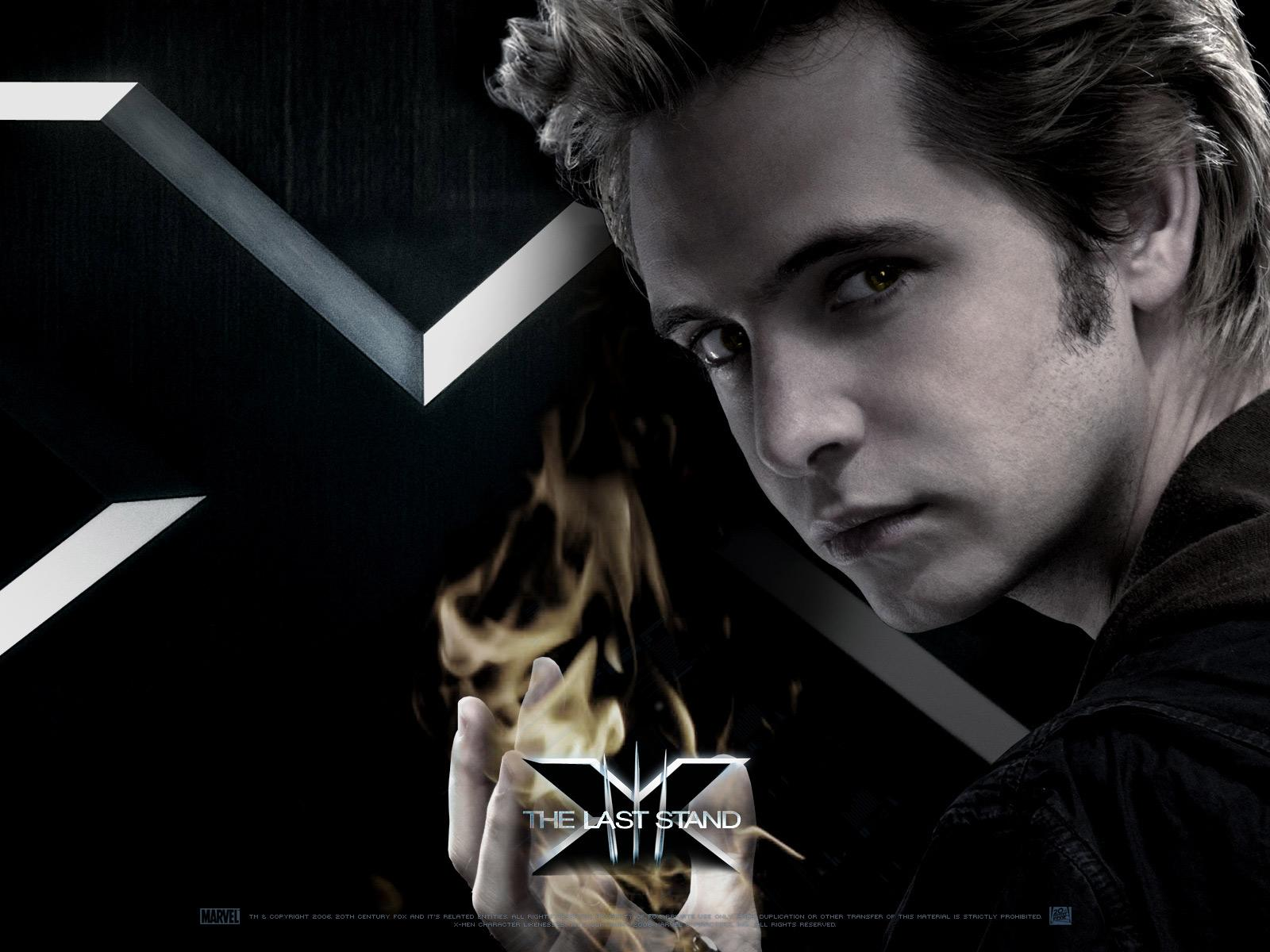Wallpaper X-men Pyro Aaron Stanford
