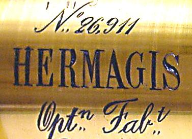 Wallpaper Appareils photos 0307-2  HERMAGIS  Objectif aplanastigmat n5, collection AMI