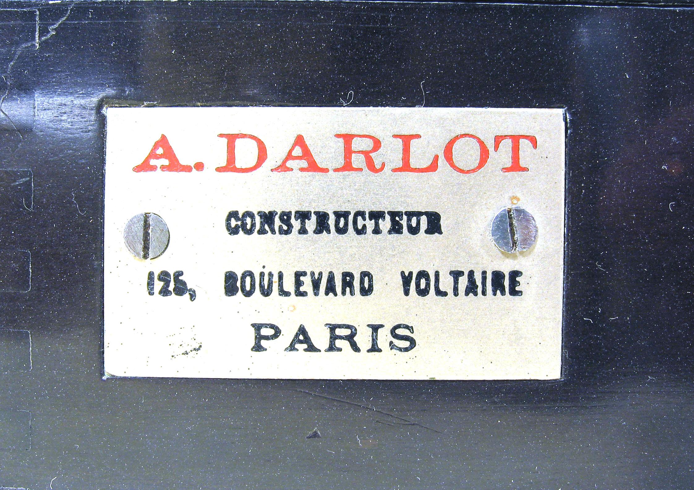 Wallpaper 0790-7  DARLOT . A  Chambre folding 9X12, collection AMI Appareils photos