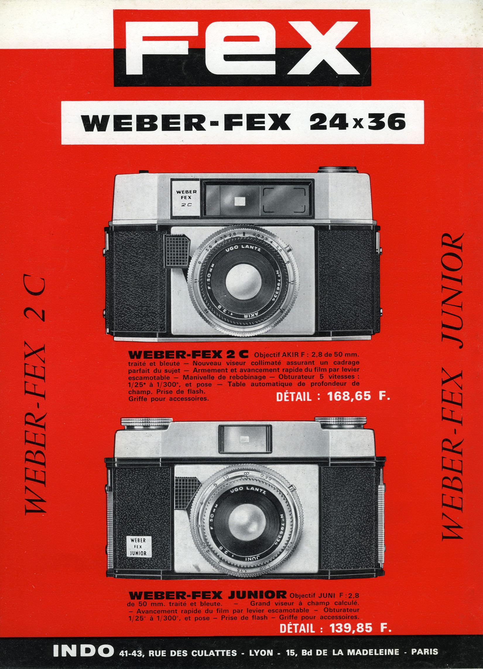 Wallpaper 1546-3  FEX  Weber-fex bleu, collection AMI Appareils photos