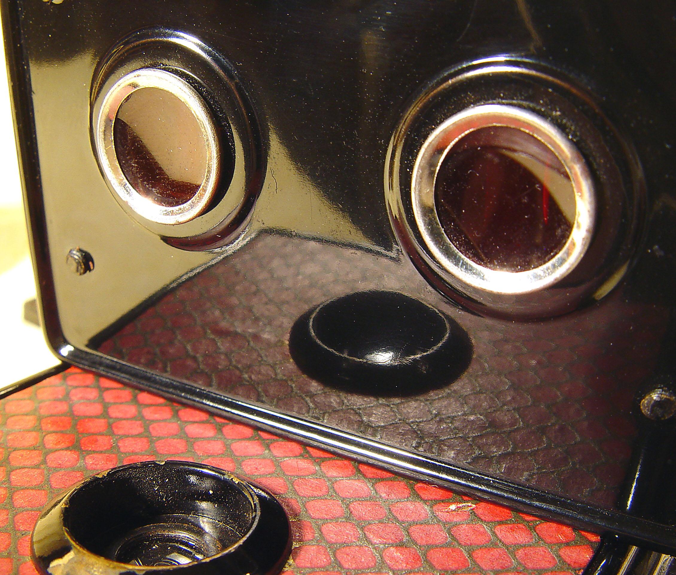 Wallpaper Appareils photos 2273-12  GAP  box  3X4 facade losangee rouge et or