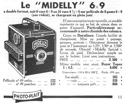 Wallpaper 3033-11 MIDELLY Demilly box modele de base, collection AMI Appareils photos