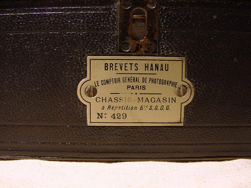 Wallpaper Appareils photos 0007-3 GAUMONT.L Spido chassis magasin HANAU plaquette collection AMI