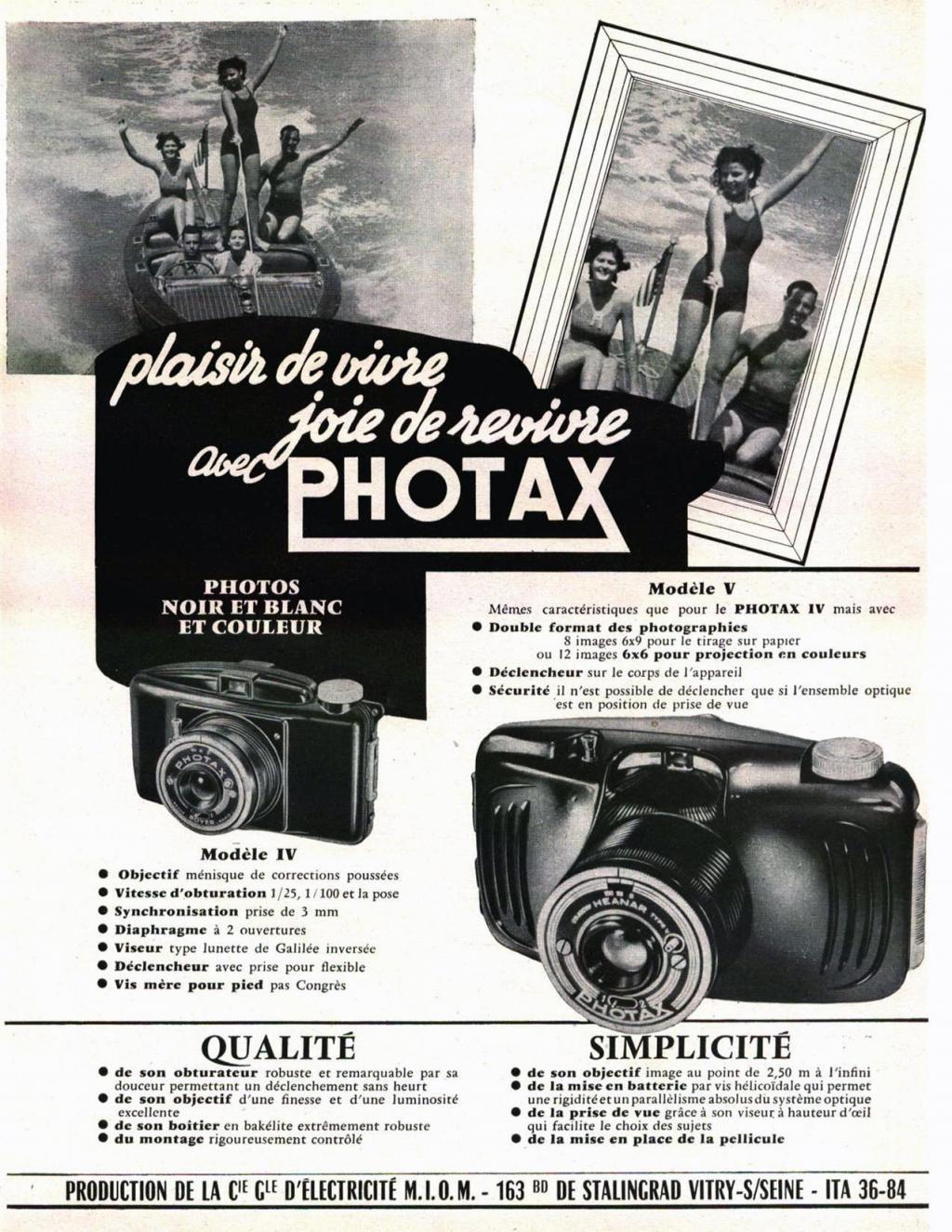 Wallpaper Appareils photos 0029-6 M.I.O.M Photax V , collection AMI