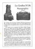 Wallpaper Appareils photos 0874-17 FOLMER et SCHWING Graflex 1A autographic, collection AMI