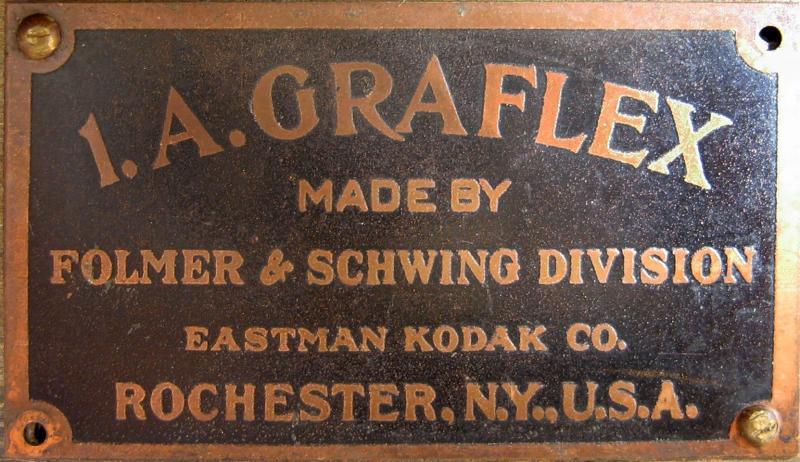 Wallpaper Appareils photos 0874-9 FOLMER et SCHWINF Graflex A autographic, collection AMI