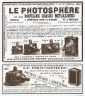 Wallpaper Appareils photos 1170-12 COMPAGNIE FRANCAISE DE PHOTOGRAPHIE Photosphere 9X12