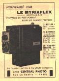 Wallpaper Appareils photos 1268-17 BONNET et BISCH Le Myriaflex documentation collection AMI