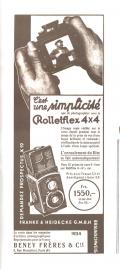 Wallpaper Appareils photos 1302-17  FRANKE et HEIDECKE  Sport rolleiflex 4X4, Collection AMI TSLW
