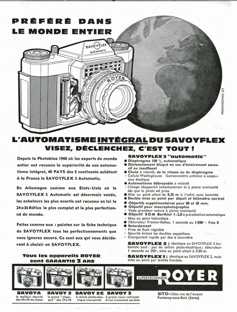 Wallpaper 1414-2  SITO ROYER  Savoyflex 3E automatic, collection AMI Appareils photos