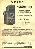 Wallpaper Appareils photos 1484-5  FOTOKIN  Eikon omega 6X6, collection AMI TSLW