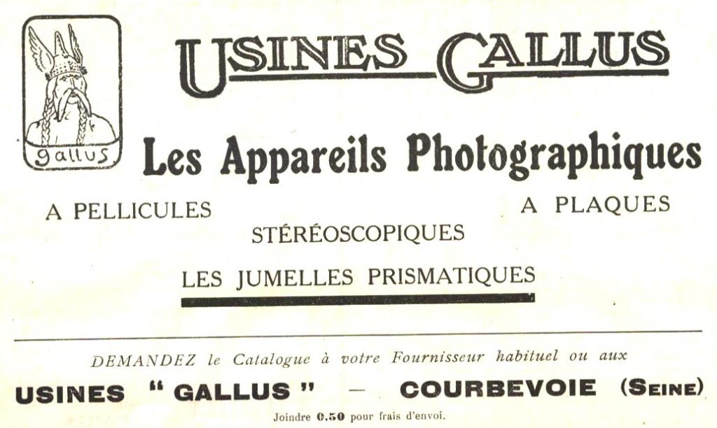 Wallpaper 1635-07 GALLUS 3X4 film 127, collection AMI Appareils photos