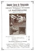 Wallpaper Appareils photos 1870-15 COMPAGNIE FRANCAISE DE PHOTOGRAPHIE Photosphere 9X12, collection AMI
