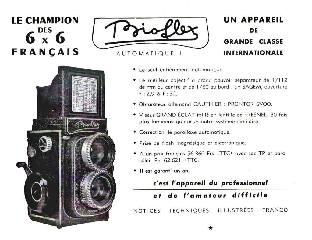 Wallpaper 2069-16  ALSAPHOT  Bioflex 1er modele, collection AMI Appareils photos