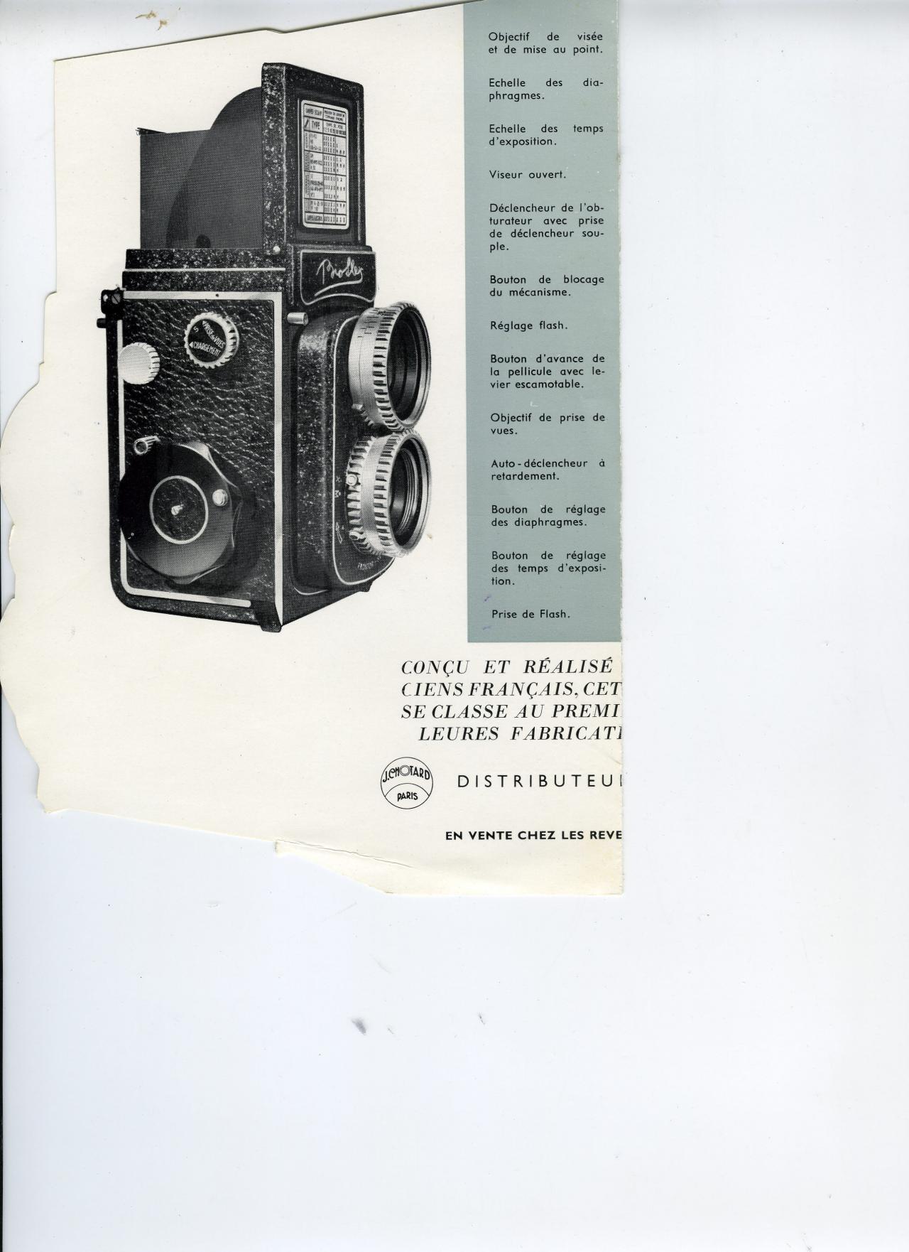 Wallpaper 2069-26  ALSAPHOT  Bioflex 1er modele, collection AMI Appareils photos