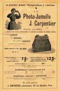 Wallpaper Appareils photos 2231-7  CARPENTIER  Jules  La stereo jumelle, collection AMI