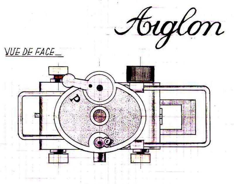 Wallpaper 2679-30  AIGLON subminiature, collection AMI Appareils photos