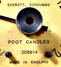 Wallpaper Appareils photos 2901-15  EVERETT EDGCUMBE  foot candles posemetre ancien, collection AMI