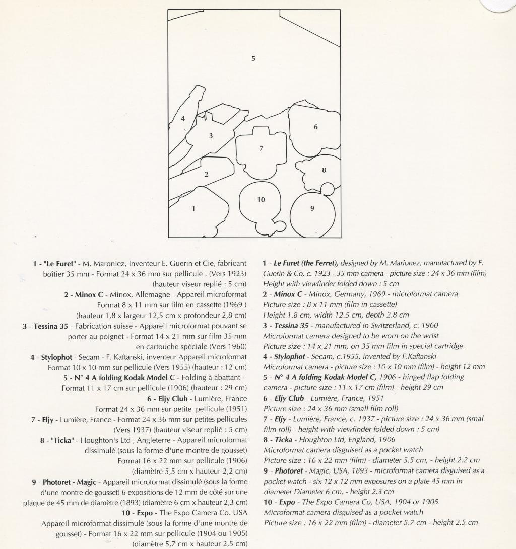 Wallpaper 3008-3 AIR FRANCE menu , collection AMI Appareils photos