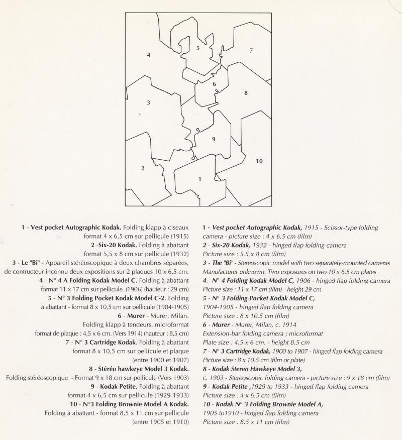 Wallpaper 3010-3 AIR FRANCE menu, collection AMI Appareils photos