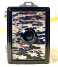Wallpaper Appareils photos 3106-4  GAP  box 3X4 facade nuagee gris noir, collection AMI TSLW