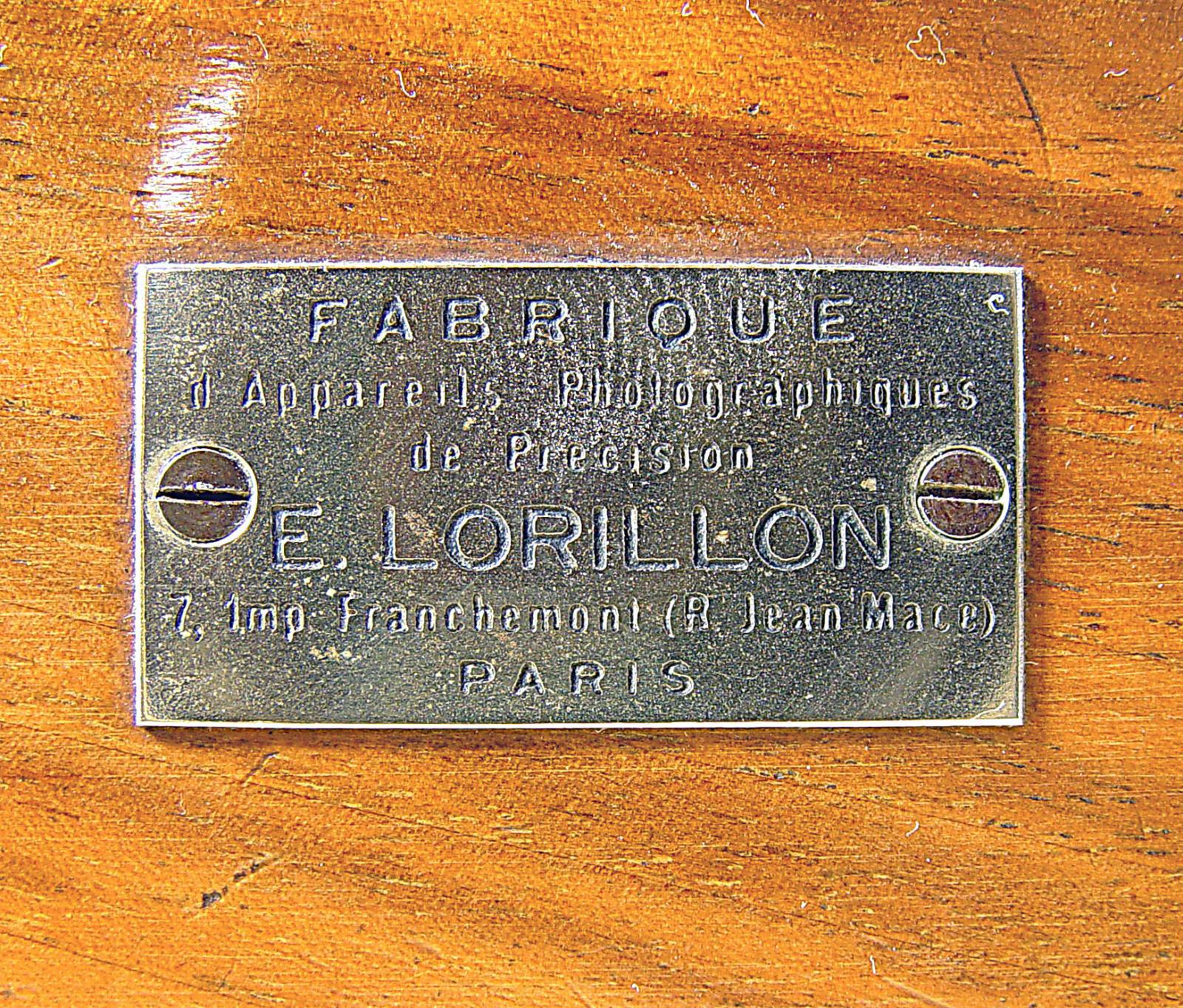 Wallpaper Appareils photos 3125-13  LORILLON . E  Chambre folding 9X12, collection AMI