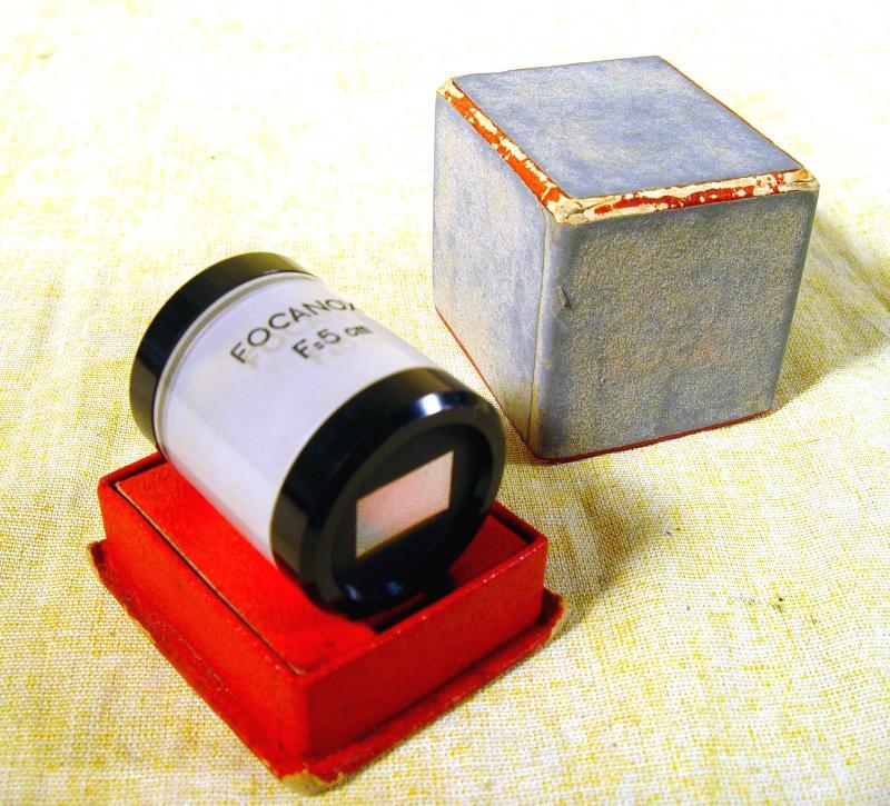 Wallpaper 3173-1  OPL viseur focanox modele 1, collection AMI Appareils photos