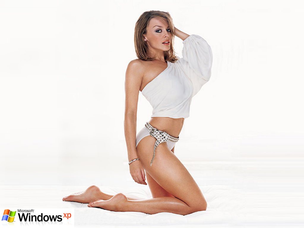 Wallpaper Theme Windows XP Sexy femme