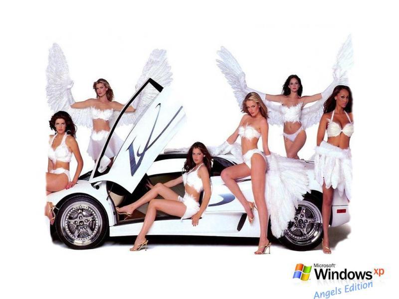 Wallpaper jolies filles Theme Windows XP Sexy