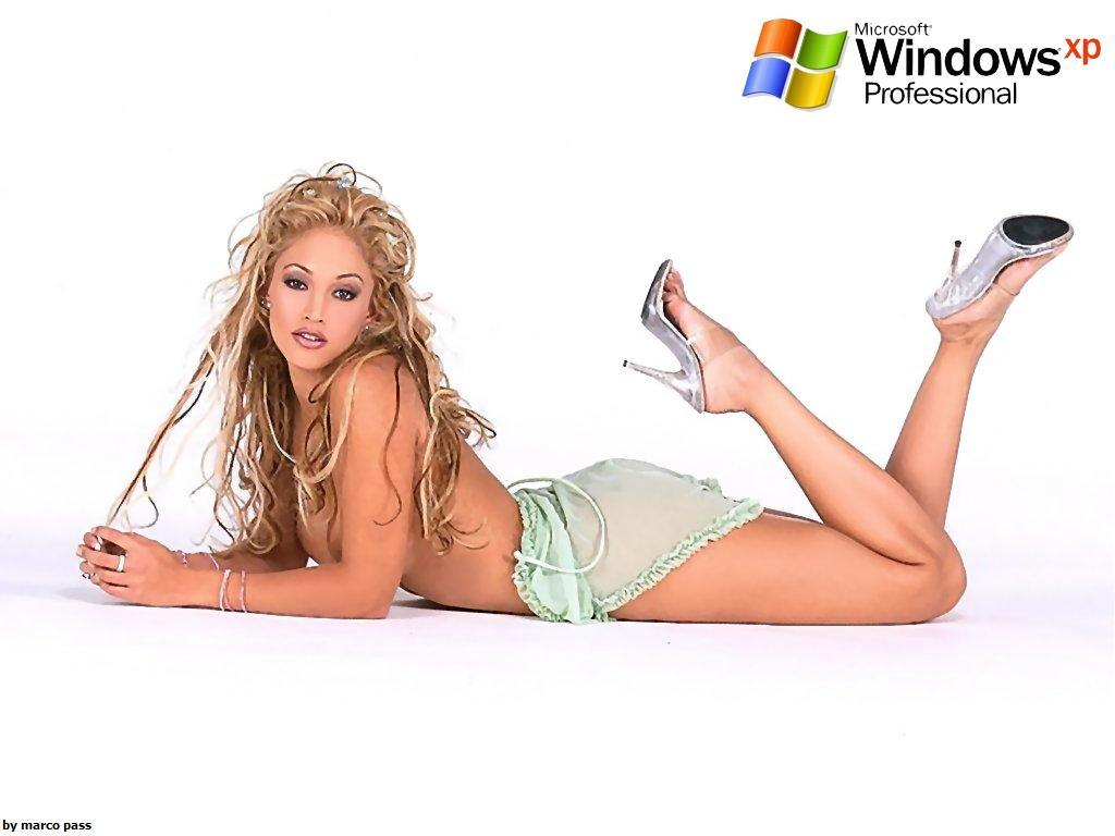 Wallpaper Theme Windows XP Sexy quasi nue