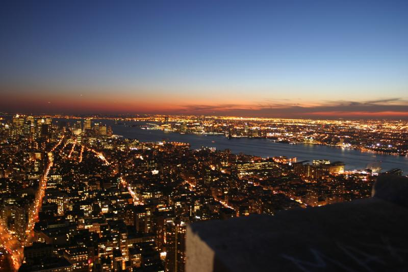 Wallpaper New York by night Grands formats - Hautes resolutions