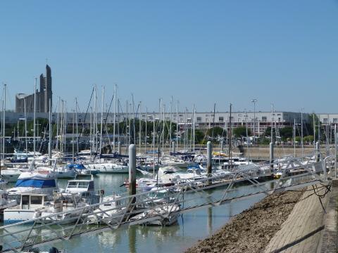 Wallpaper Port et Eglise de Royan Grands formats - Hautes resolutions