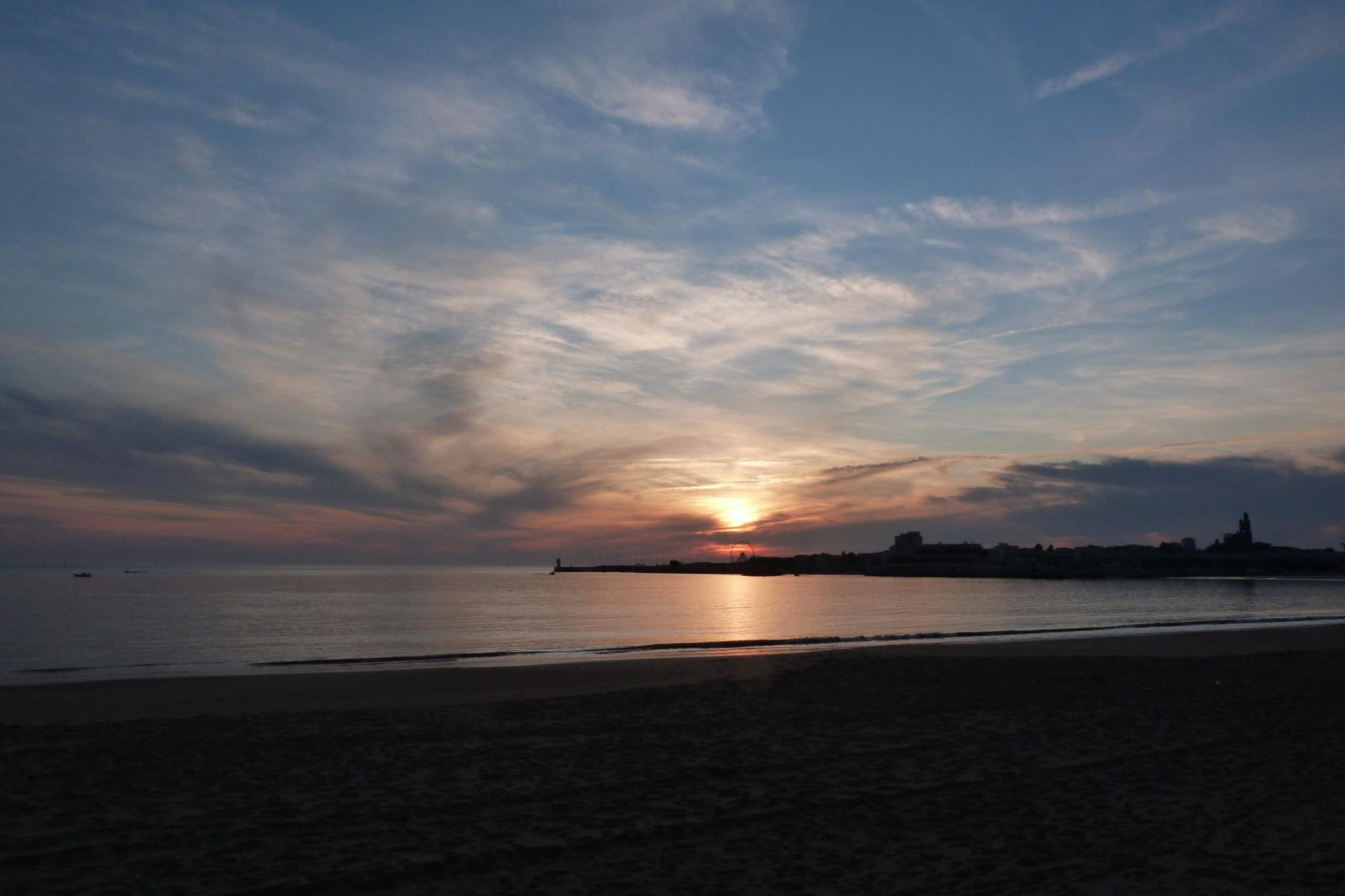 Wallpaper couche de soleil Royan Grands formats - Hautes resolutions