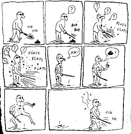 Wallpaper Humour & Insolite aveugle