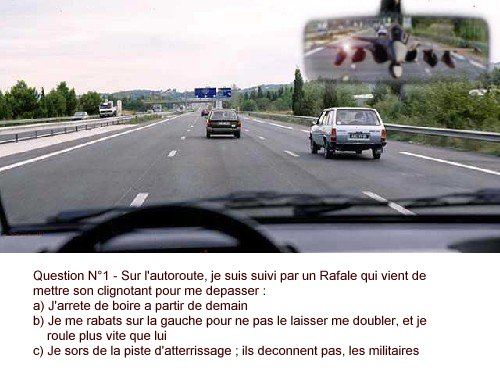 Wallpaper code de la route Humour & Insolite