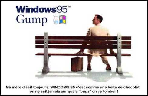 Wallpaper Humour & Insolite gump