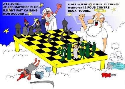 Wallpaper Humour & Insolite jeu d echec