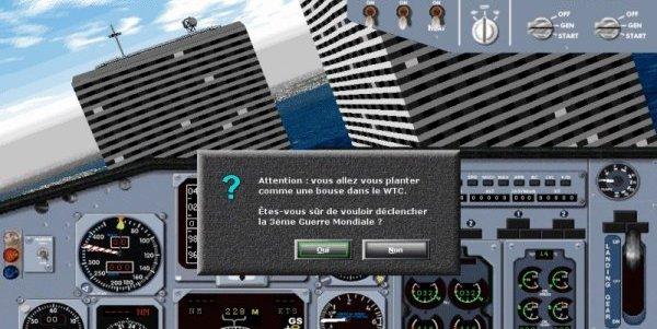 Wallpaper Humour & Insolite jeux de simulation d avion