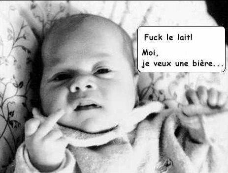 Wallpaper Humour & Insolite le mignon bebe